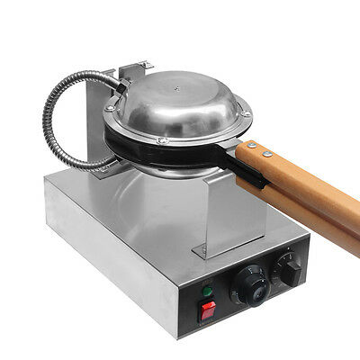 Great Stainless Steel Electric Egg cake oven QQ Egg Waffle Maker machine110/220v