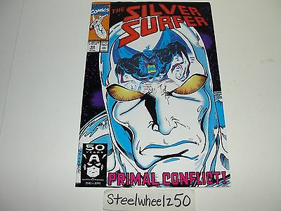 Silver Surfer #49 Comic Marvel 1991 Jim Starlin Ron Lim Thanos Infinity Gauntlet