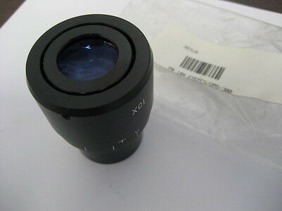 Two Topcon 10X Wide Field Eyepieces for Slit Lamps and OMS-series scopes. NR.
