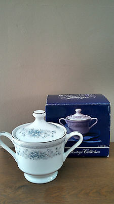 American Limoges Bridal Bouquet Covered Sugar Bowl The Heritage Collection NIB