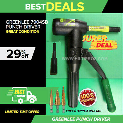Greenlee 7904Sb Quick Draw 90 Hydraulic Punch Driver, Great Condition, Fast Ship