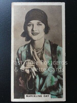 Single: MARCELINE DAY No.5 'CINEMA STARS' Cavanders Cig Cards 1934