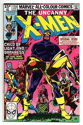 Uncanny X-Men Vol 1 No 136 Aug 1980 (VFN-)Marvel Comics, Modern Age (1980 - Now)