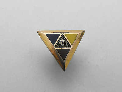 Knights of Pythias FCB Collectible Fraternal Screw Back Lapel Pin Vintage