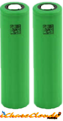 2 Sony VTC5 18650 2600mAh 30A Rechargeable High Drain Batteries Flat Top