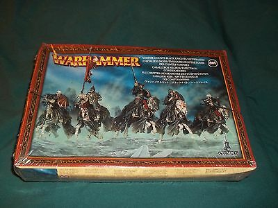 Warhammer Fantasy Vampire Counts Black Knights / Hexwraiths NEW SEALED