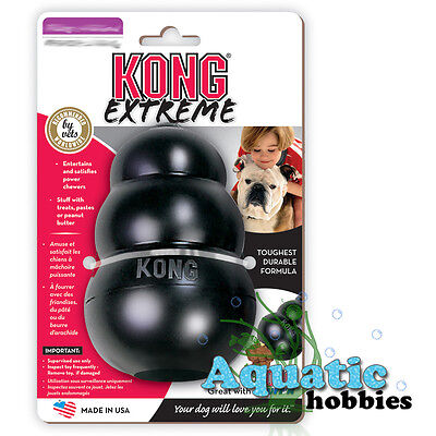 Kong Extreme Medium Treat Release Dispensing Chew Toy For Dog Puppy Power Chewe
