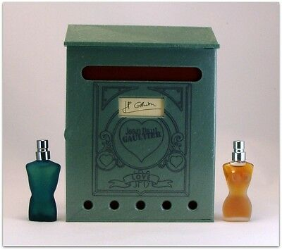 Jean Paul Gaultier Valentine's LIMITED EDITION MINIATURES  SET (Ed. 2000)