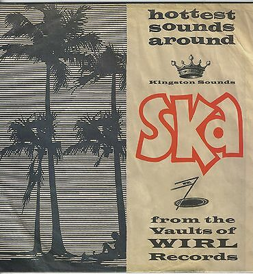 Ska From The Vaults Of Wirl Records NEW VINYL LP £10.99 KINGSTON SOUNDS