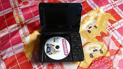 """Sony DVP-FX750 Portable DVD Player with Screen 7"""" + Free 1-day Priority Shipping"""