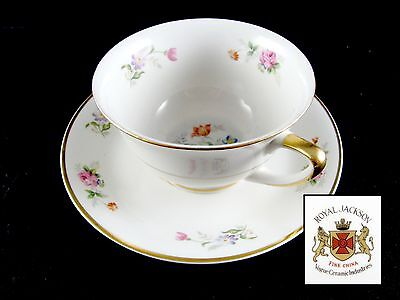 Royal Jackson Lord Patterson Cups and Saucers, 20 pc