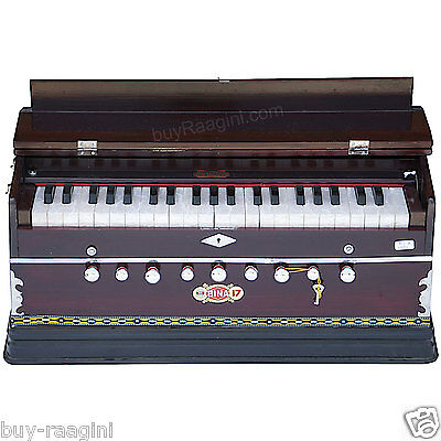 Harmonium Bina No.17 B Delux/coupler Function/rosewood Color/indian/42 Key/aig