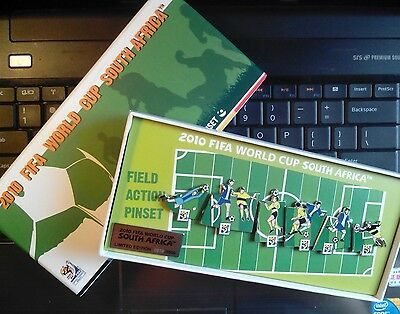 2010 FIFA WORLD CUP SOUTH AFRICA FIELD ACTION PIN SET