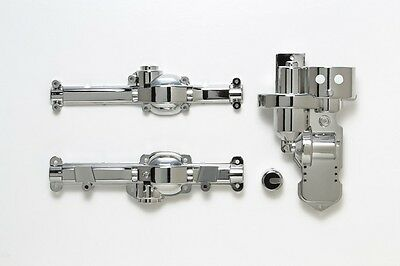 Tamiya 54616 RC CC01 Chassis Metal Plated A Parts (Gear Box & Cover)