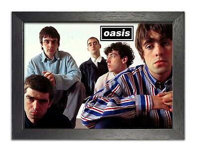 Oasis 2 Noel Liam Gallagher Music Band Photo Legends Print Icon Poster Rock