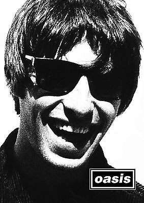 OASIS - 5 - NOEL & LIAM GALLAGHER - Music band - music legends - A3 A4 Poster