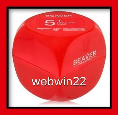 BEAVER Matt Hard Wax paste 75g strong hold long lasting solid hair clay styling