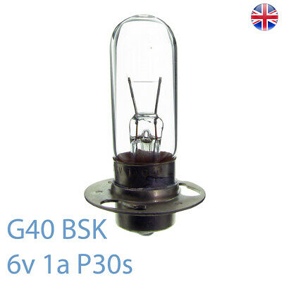 G40 BSK 6v 1a P30s Sound Exciter Atlas Projector Bulb / Lamp