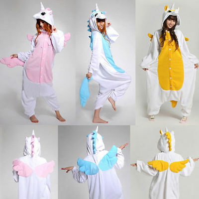 Unisex Adult Onesie Kigurumi Pyjamas Anime Cosplay Costume wholesale unicorn