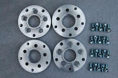 5x112 VW to 5x130 Porsche 20mm Hubcentric Car PCD Adaptors Complete Set of 4