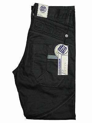 Boys Kids Jeans Ezb224 In Black Coated Colour Classic Fit All Sizes 24 To 29