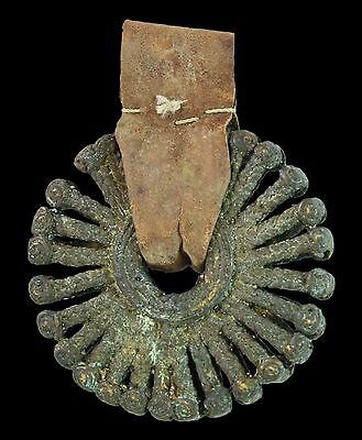 Superb Sun Pendant Of Dogon Tribe Used By The Elites - Mali - African Art #a91