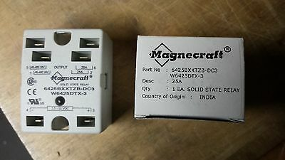 25 AMP Double Pole Solid State Relay 48-480 VAC / 3.5-32 VDC New In Box
