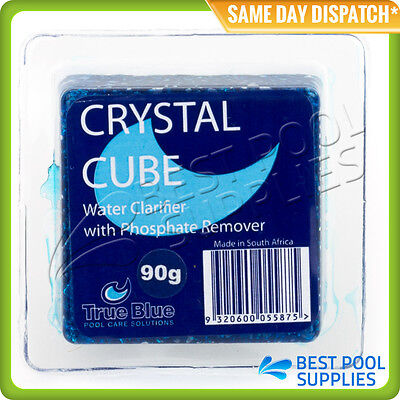 6 x CRYSTAL CUBE  WATER CLARIFIER WITH PHOSPHATE REMOVER – SWIMMING POOLS