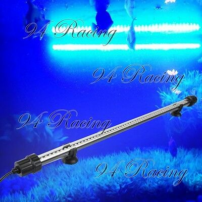 48cm Blue 60LED Underwater Submersible Lamp for Aquarium/Fish Tank Use