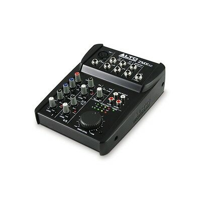 Alto Professional Zephyr ZMX52 5-Channel Compact Mixer Mixing Desk ZMX