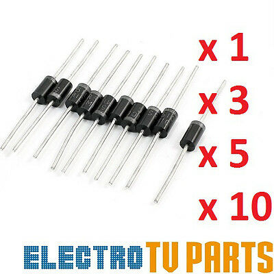 Ultrafast diode MUR460 4A 600V 50NS.FREE UK post from UK Seller x1 x3 x5 x10