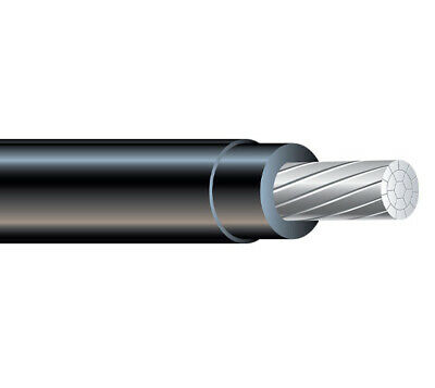 250' 1/0 AWG Aluminum XHHW-2 600V Building Wire XLPE insulation cable