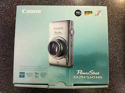 Brand NEW Canon PowerShot ELPH 510HS 12.1MP Digital Camera Black IXUS 1100HS NIB