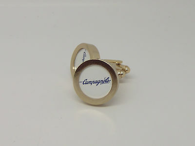 Campagnolo cycling cufflinks Gold