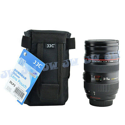 JJC Deluxe Lens Pouch Protector for CANON ZOOM LENS EF 75-300mm 1:4-5.6 III USM