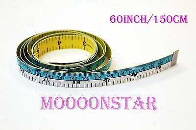 60 Inch/150cm Hoechstmass Double Side Measuring Tapes Sewing Rulers Multi-color