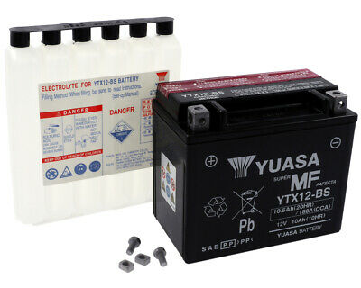 Batterie YUASA YTX12BS Yamaha TDM 850,FZR600,YFM600,YZF600, ARCTIC CAT, CAN-AM