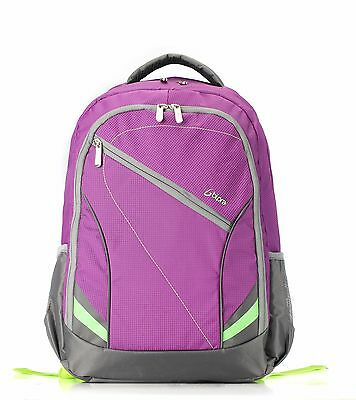 Bipra 15.6 inch Laptop Bag Backpack Suitable For 15.6 Inch Laptops (purple)