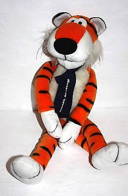 "Dakin Plush Tiger Stuffed Tie Rrroaring Success Sue Sona Vintage 1992 22"" Orange"
