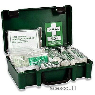 Emegency Survival Travel Workplace First Aid Kit Medical Health Safe 1-10 Person