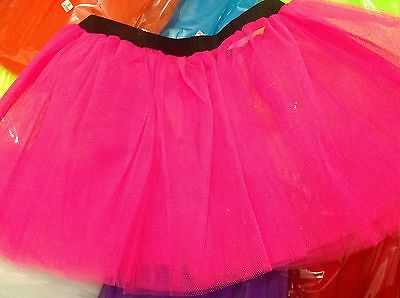 Ladies Tutu Skirt Christmas~Disco~Fancy Dress,Hen Party,80'-90'S Adult Fashion