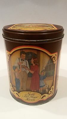 VINTAGE NESTLE TOLL HOUSE MORSELS TIN 50 YEAR ANNIVERSARY (1939-1989) RARE