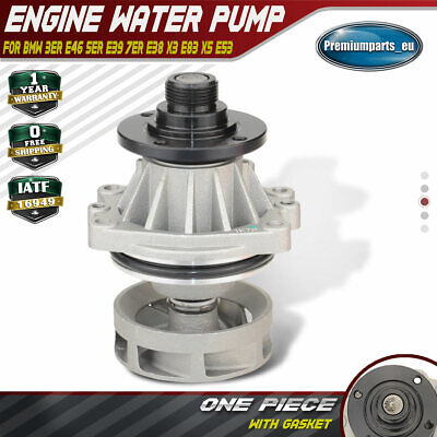Water Pump for BMW E36 E38 E39 E46 E83 E85 320i 323i 325i 328i 330i 520i Z3 Z4