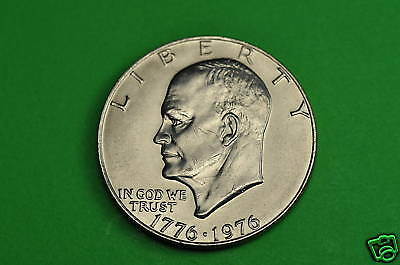 1976-P  Brilliant Uncirculated (TYPE2) Eisenhower US One Dollar Coin