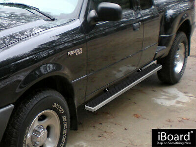 "Premium 4"" iBoard Running Boards Fit 99-11 Ford Ranger Super Cab 4 Door"