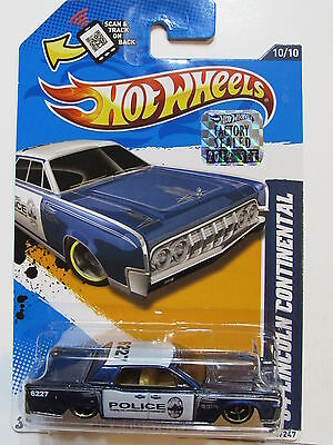 HOT WHEELS 2012 HW MAIN STREET 64 LINCOLN CONTINENTAL  FACTORY SEALED