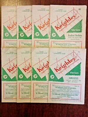 Keighley Rugby League Programmes 1962 - 1992