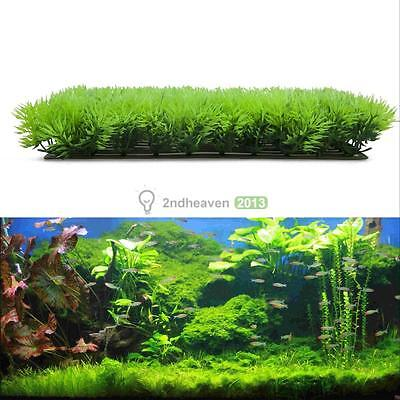 Artificial Aquarium Fish Tank Green Grass Plant Water Aquatic Lawn Landscape