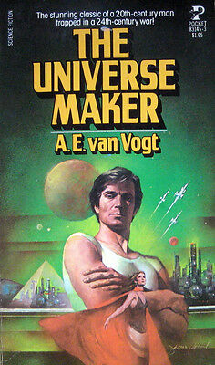 A.E. VAN VOGT THE UNIVERSE MAKER PB 1st Pocket 83145 To the future and beyond