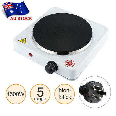 1500W Electric Stove Hot Plate Cooking Portable Single Burner Cooktop Cooker